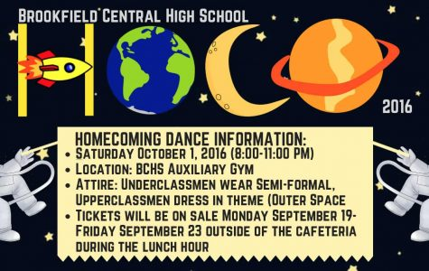 Homecoming 2016 will be out of this world!