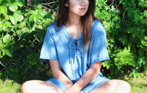 Vivian Gross models fall fashion
