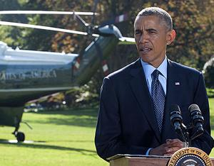 President Obama gives a statement in regards to the airstrikes against ISIS.