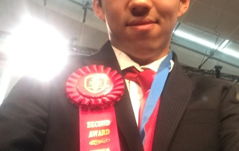 Zheng Yan Wins Second at ISEF