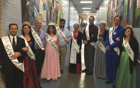 Math teachers match in witty Halloween costumes