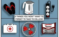 Six must-haves for college dorm life
