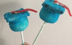 Bohr's Bakery: how to make graduation cap cake pops