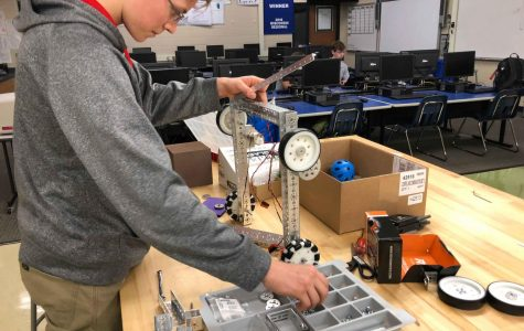 The Brookfield Robotics Team launches the FIRST Tech Challenge into action