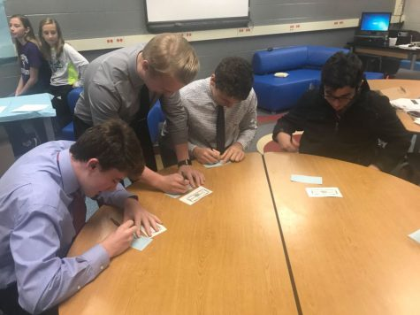 DECA team prepares for district level competitions