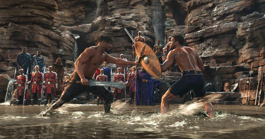 Black Panther is the first Marvel production to have its opening weekend box office exceed its production cost. The films main setting, Wakanda, gets its name from the Wakamba tribe of Kenya. Visually speaking, Wakanda is based off of two waterfalls: the Iguaza Falls in South America and the Victoria Falls in Africa.
