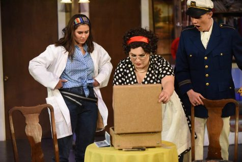 "Drama department performs ""Strange Boarders"""