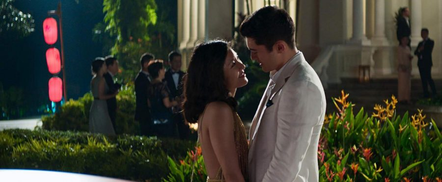 Rachel Chu (Constance Wu) and Nick Young (Henry Golding) share a romantic moment with each other in Singapore, despite the nightmare that Nick's family imposed on Rachel. The movie has so far grossed over $117,000,000 in the box office in the US alone, and over $26,000,000 during the opening weekend. In fact, it's been the most successful rom-com in nine years.