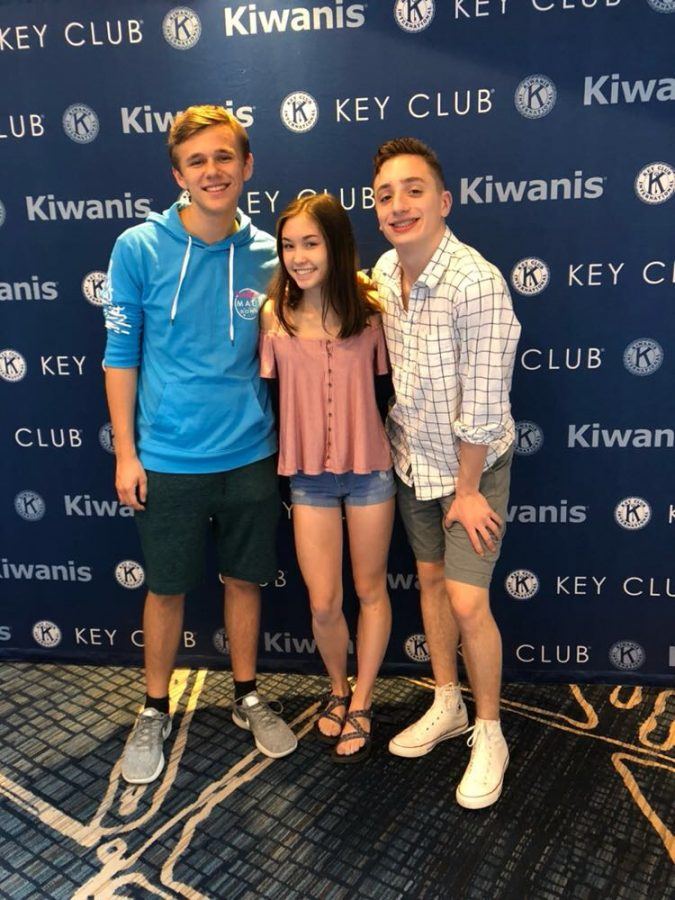 District Governor Kevin Jacobson ('19), Lieutenant Governor Riley Feng ('20), and Secretary-Treasurer Liam Flatley ('20) represented BC at the Key Club International Convention, held at the Chicago Marriott Downtown Magnificent Mile