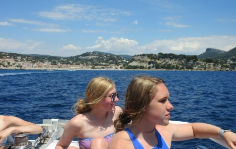 Students immerse in French culture for school trip
