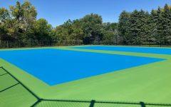 Tennis program receives new courts