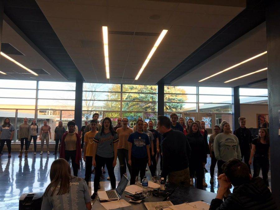 aca49a40b412d Newsies cast and crew prepare for upcoming performances – Brookfield ...