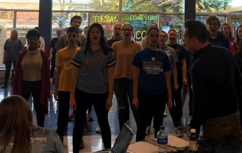 Newsies cast and crew prepare for upcoming performances
