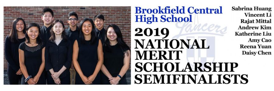 National Merit Semifinalists 2018: (Top row, left to right) Sabrina Huang, Vincent Li, Rajat Mittal, and Andrew Kim. (Bottom row, left to right) Katherine Liu, Amy Cao, Reena Yuan, and Daisy Chen. These eight students are essentially the top of the top --- their scores were in the top 0.5% of the entire country, and they were chose out of the large pool of 1.6 million qualifying students.