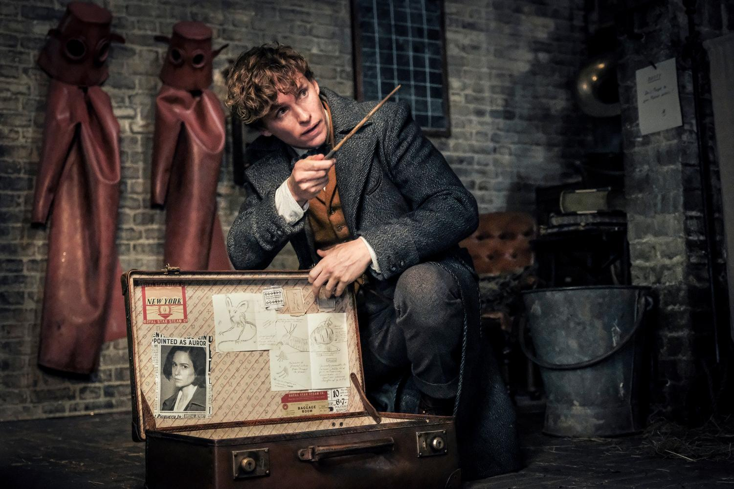 Eddie Redmayne plays Newt Scamander in the thrilling sequel to the first Fantastic Beasts film, further expanding the Harry Potter universe.
