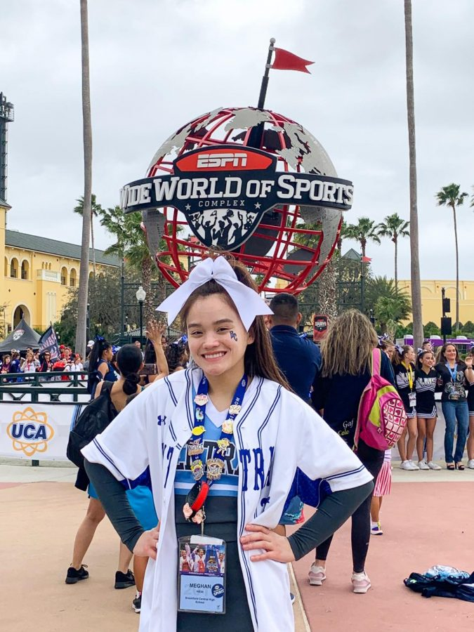 Kiese excels in final cheer season
