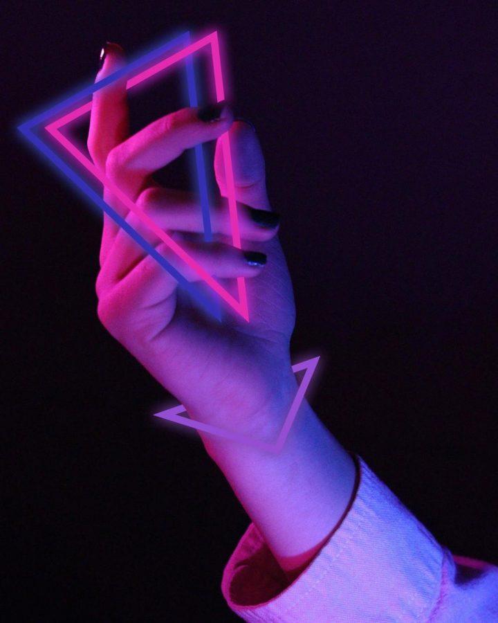 Silver Key in Digital Art Piece: Phalanges