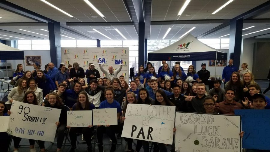 Cheers from cafeteria: BC gathers support for teen golfer