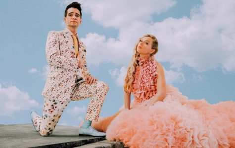One of the promotional images for the single shows Urie and Swift in a bright pastel world, encapsulating the song and its tone.