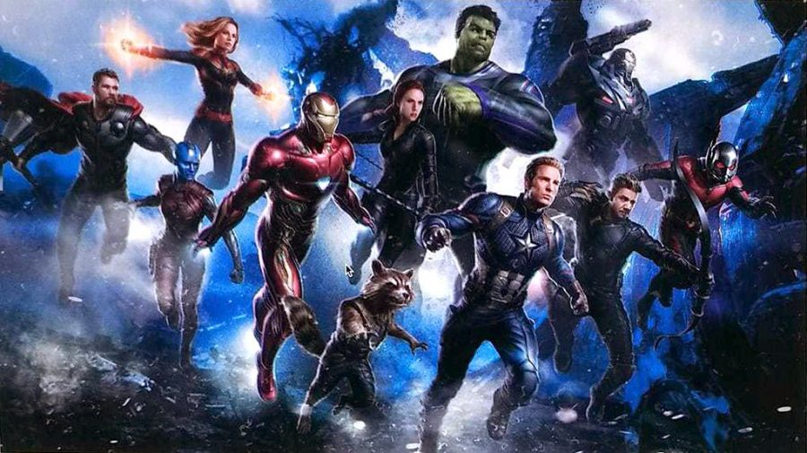 Avengers%3A+Endgame+brought+together+a+cast+of+old+favorites+and+new+heroes%2C+featuring+all+six+of+the+original+Avengers+along+with+Antman%2C+Rocket%2C+and+the+newest+heroine%3A+Captain+Marvel
