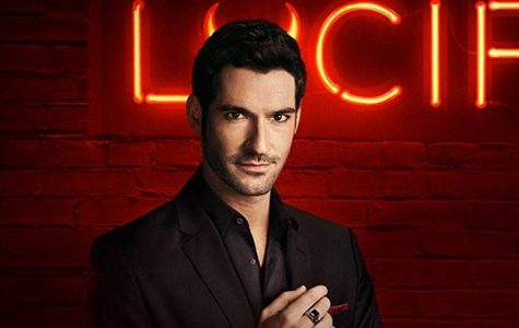 Lucifer: Lord of Hell and owner of a voguish nightclub. The character is played by Tom Ellis in the series, which also stars Lauren German and Rachel Harris.