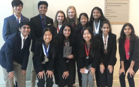 DECA prepare to competete at Mini-Districts